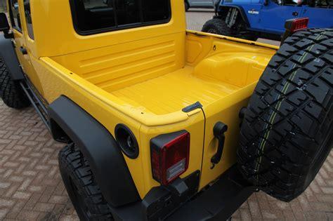 jeep wrangler pickup kit jeep wrangler jk 8 independence pickup truck kit photo