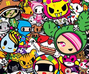 free coloring pages of tokidoki characters