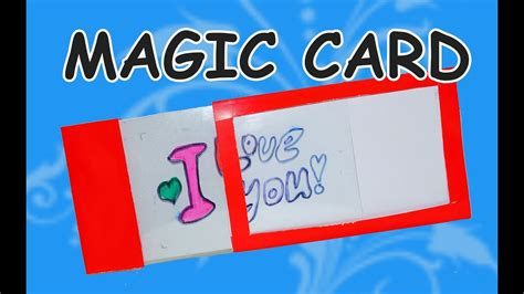 make magic card diy craft ideas diy card ideas how to make magic card