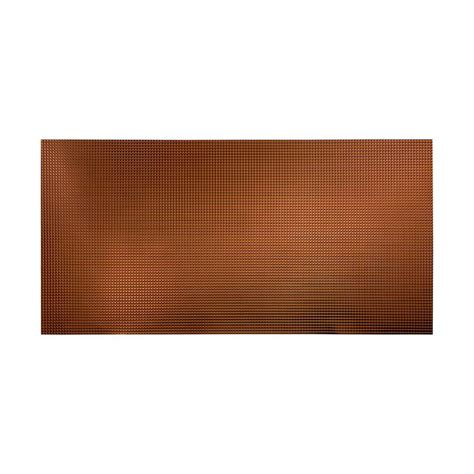 Decorative Wall Panels Home Depot Fasade Square 96 In X 48 In Decorative Wall Panel In Rubbed Bronze S62 26 The Home Depot