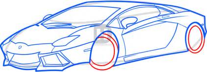 How To Draw The Front Of A Lamborghini How To Draw A Lamborghini Aventador Lamborghini Aventador