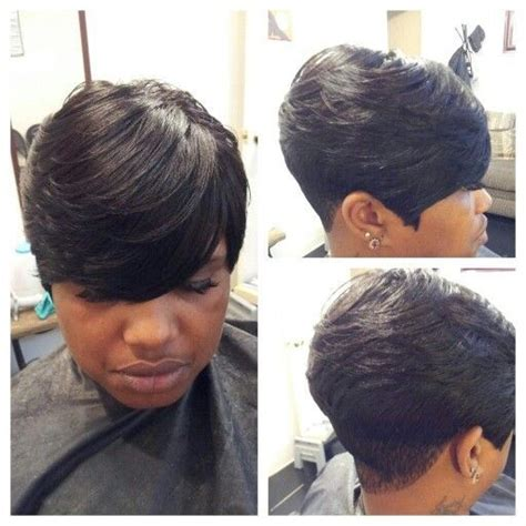 pixie cut hairstyles using bump weave pictures 25 best bump hair images on pinterest hair dos bump