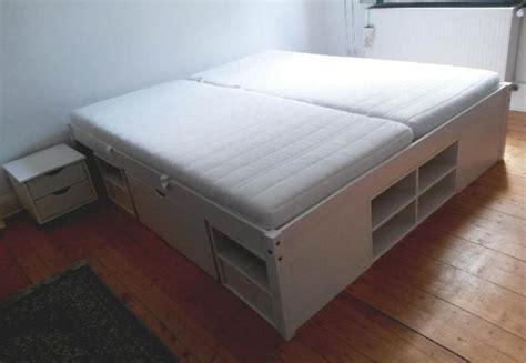betten kassel funktions doppelbett mit 2 matratzen 180 x 200 cm wei 223
