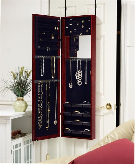 door mounted jewelry armoire product details