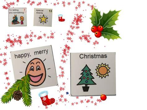 christmas ideas  augmentative  alternative communication aac janelle sampson