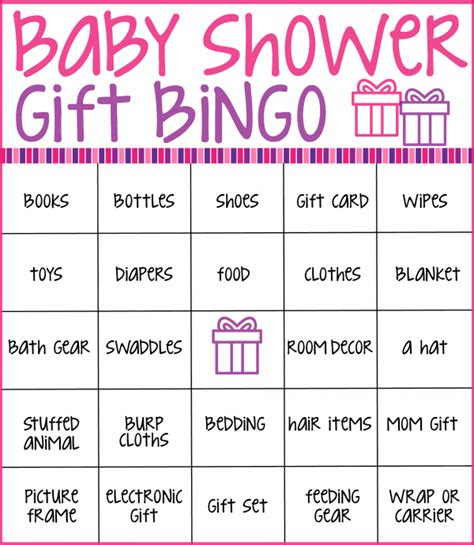 Baby Shower Bingo Card Generator by Baby Shower Bingo Cards Real Housemoms