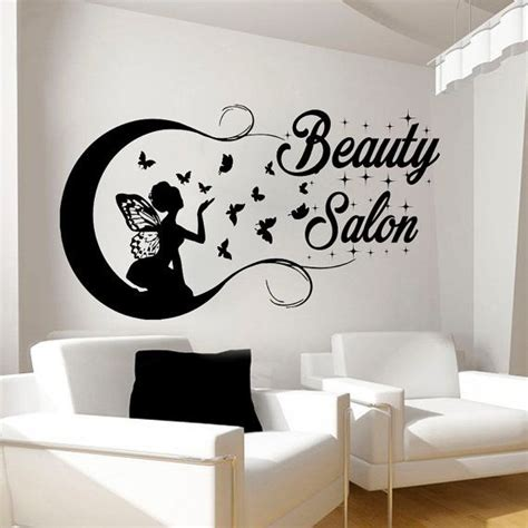 Beautiful Wall Stickers For Room Interior Design by Beauty Salon Wall Stickers Decal Hairdressing Salon Decor