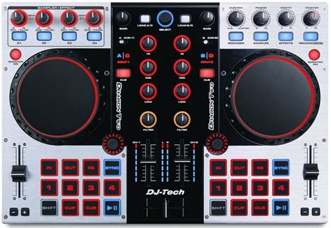 console dj tech dj tech two recensione digital jockey