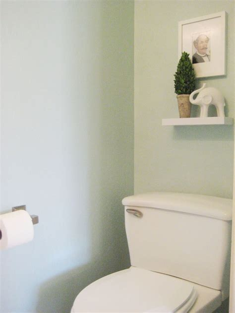 Tiny Half Bathroom before and after small bathroom makeovers big on style