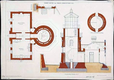 lighthouse home floor plans design architectural us lighthouse point conception vintage printable at swivelchair