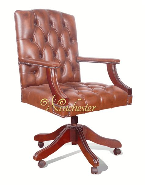 Chesterfield Gainsborough Swivel Chair Leather Sofas Chesterfield Swivel Chair