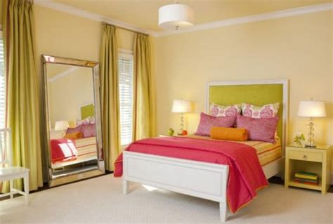 pink and green walls in a bedroom ideas trendy color combo pink orange
