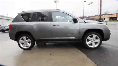 gray jeep compass 2012 jeep compass limited mineral gray metallic