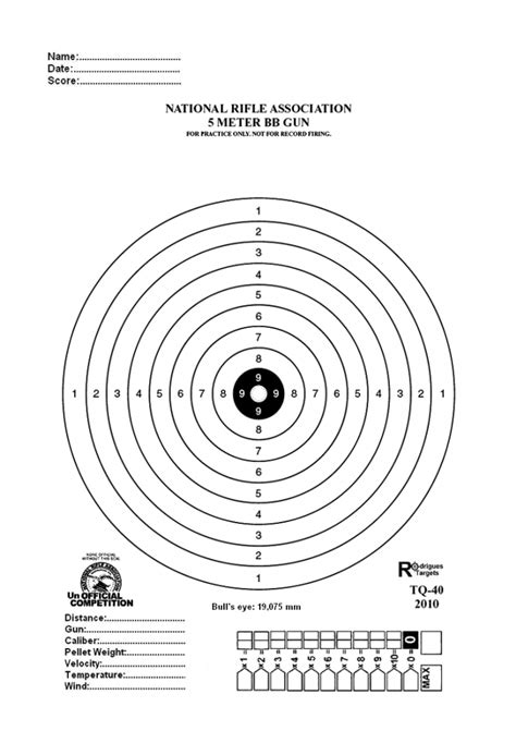 printable bb rifle targets nra tq 40 5 meter bb gun target photo by christianww