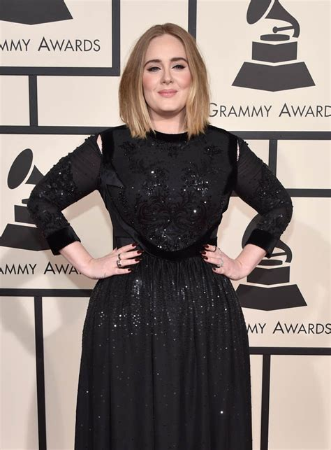 adele at the 2013 grammys the hollywood gossip adele s audio problems at the 2016 grammy awards lainey