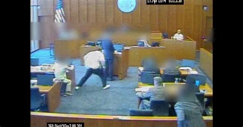 Salt Lake City District Court Search Shows Defendant Being As He Attacks Witness In Salt Lake Courthouse