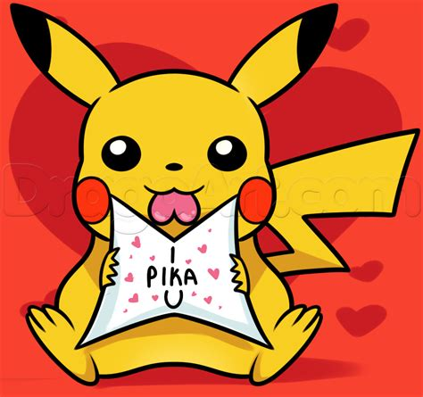 how to draw valentines day pictures step by step how to draw pikachu step by step valentines