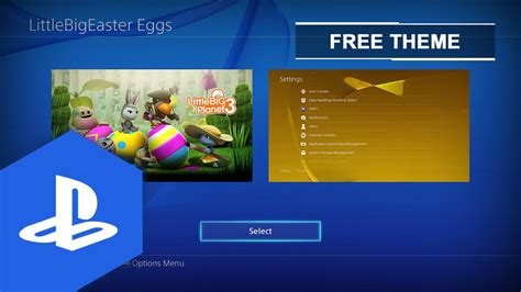 ps4 themes uk release ps4 eu little big planet 3 easter eggs static theme