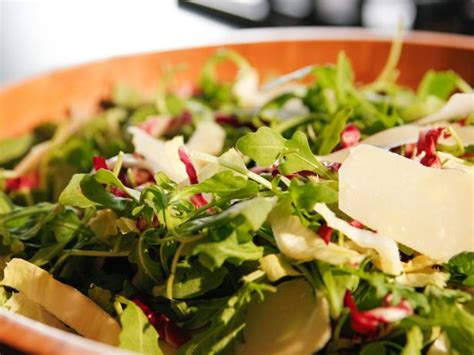 ina garten cape cod chopped salad arugula radicchio and parmesan salad recipe ina garten