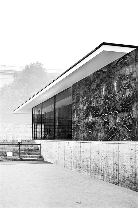 Pavillon Mies Der Rohe by Barcelona Pavillon By Ludwig Mies Der Rohe On Behance