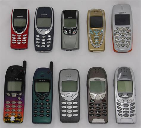 early mobile phones nokia phones 1990s and early 2000s a collection of