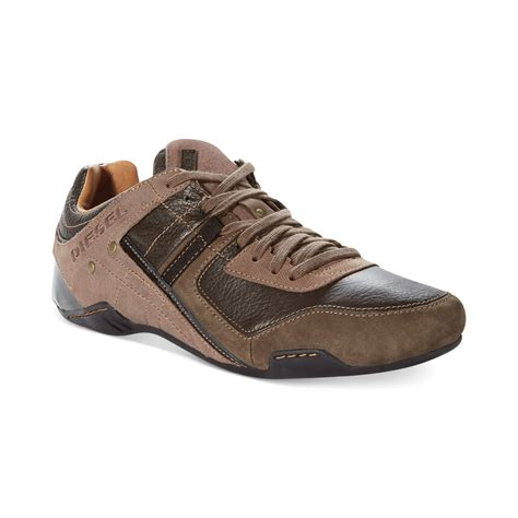 diesel sneakers diesel korbin sneakers in brown for brown lyst