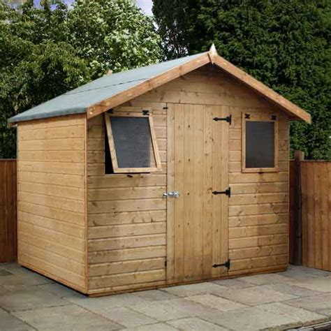 Garden Sheds 6 X 8 by How To Build A Cheap Loafing Shed 8 X 6 Wooden Sheds Uk