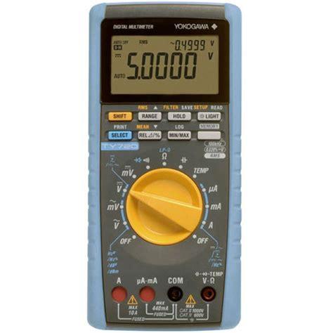 Digital Multimeter Dekko Dm 179t True Rms Temperature Suhu jual digital multimeter true rms yokogawa ty720 asli produk jepang