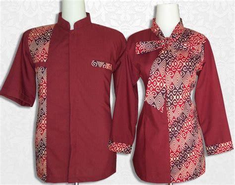 Dress Batik Modern Bisa Seragam Stok Banyak 10 model baju batik kantor kombinasi polos terkini 1000 model baju batik kantor