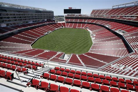 131582 Clara Set 90000 49ers field of is nearly ready for football san francisco chronicle
