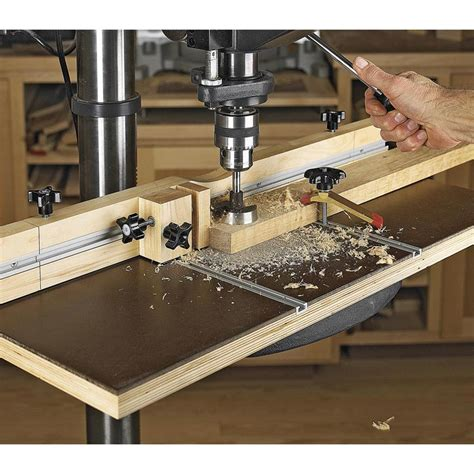 drill press table woodworking plans feature packed drill press table woodworking plan from