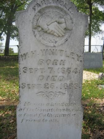 """william henry """"bill"""" whitley (1864 1888) find a grave"""