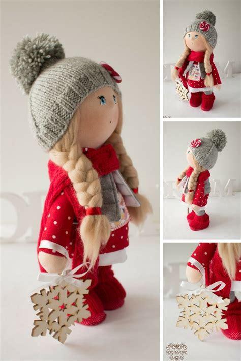 Dolls Handmade - winter tilda doll doll doll handmade