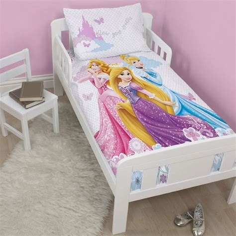 Princess Bed Cover Set New Disney Princess Dreams Junior Quilt Cot Bed Duvet Cover Set Bedding Ebay