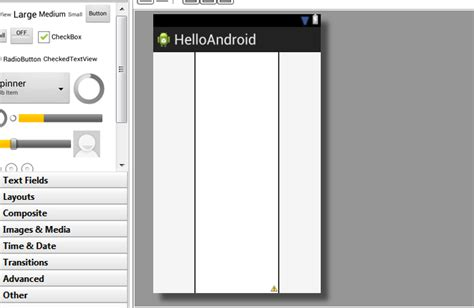 xml layout center android create a xml layout for activity in center with