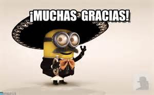 Minion 161 muchas gracias by anonymous