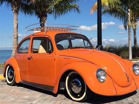 volkswagen orange orange vw beetle imgarcade com image arcade
