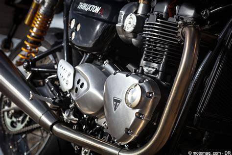 Triumph Motorrad L by Triumph Thruxton R Le Choix Des Gentlemen Riders