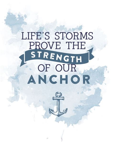 Anchor Print Inspirational Print Quot - 25 best ideas about anchor quote on pinterest happy