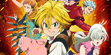 Anime 7 Deadly Sins Season 3 by The Seven Deadly Sins Knights Of Britannia Review A