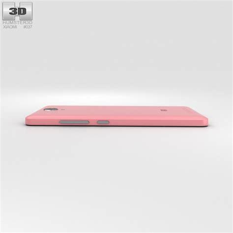 3d Xiaomi Redmi Note 2 xiaomi redmi note 2 pink 3d model hum3d