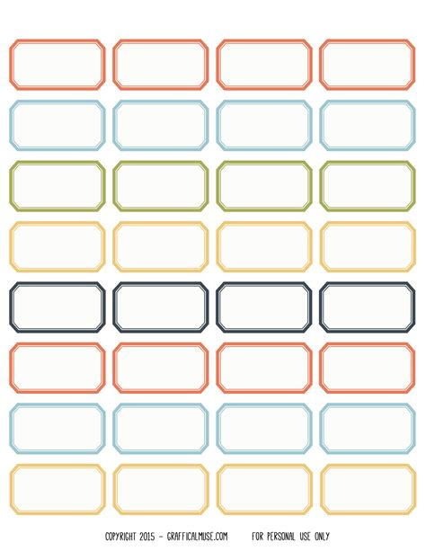 sticker label template free printable labels 28 images 12 awesome free