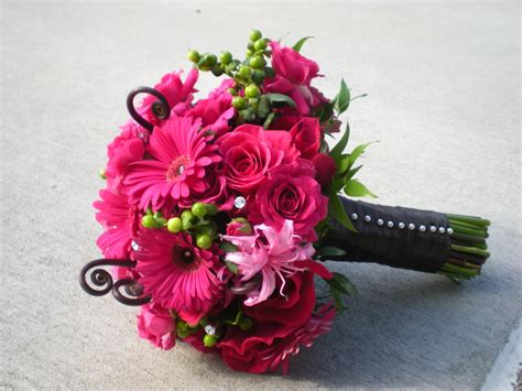 Pink Wedding Flower Bouquets by Southern Blue Celebrations Pink Wedding Bouquets
