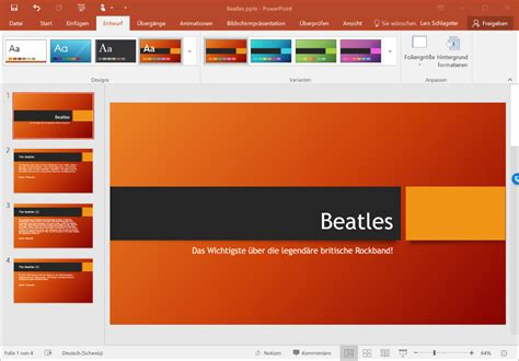 layout aus powerpoint kopieren einf 252 hrung in powerpoint 2016 tutorial it zeugs de