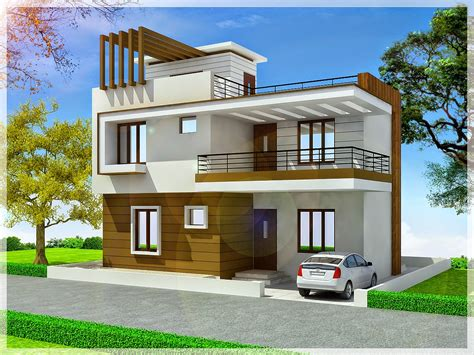 duplex house designs ghar planner leading house plan and house design