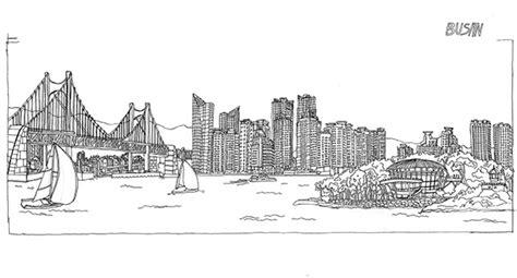 sketchbook korea travel sketch on behance