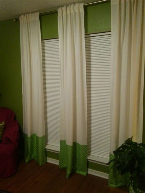 curtains out of sheets diy curtains made out of two twin sheets things we ve