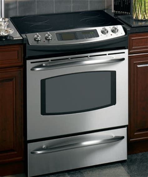 Using Induction Cooktop Ge Profile Trivection Range 30 Slide In Electric Range