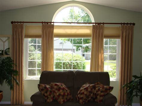Curtains For Windows With Arches Curtain Ideas For Half Circle Windows Curtain