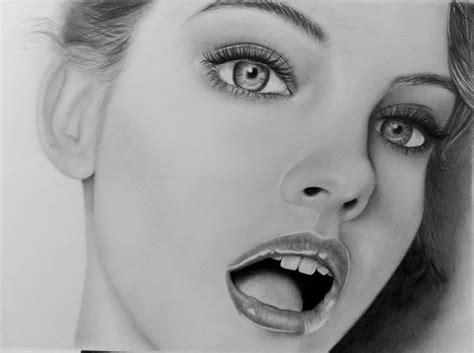 dibujos realistas en lapiz dibujo realista barbara palvin arte taringa